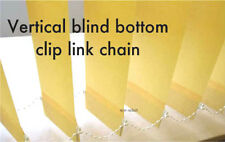 Vertical blind bottom clip link chain 50 's beaded cord