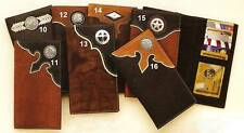 Leather/Concho~Rodeo/Roper WALLET~Checkbook/Credit Card