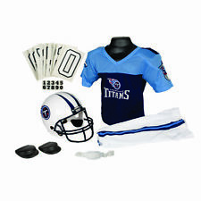 TENNESSEE TITANS YOUTH HELMET & JERSEY UNIFORM SET