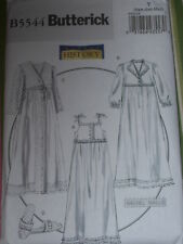 BUTTERICK #B5544 LADIES HISTORIC NIGHTGOWN/ROBE PATTERN