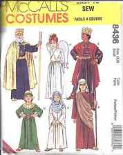 8436 UNCUT McCalls Pattern Children's Bible Costumes King Christmas Easter OOP