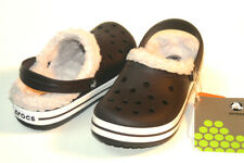 $30 Crocs Crocband Mammoth Kids Espresso Oatmeal All Size CLEARANCE