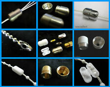 Blind + light pull cord connectors & beaded roller metal plastic chain joiners