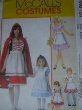McCALL'S #M6187 LADIES~GIRLS STORYBOOK COSTUME PATTERN