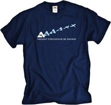 Aéroport International de Genève Logo Airport T-Shirt
