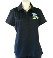 Izod Indy Racing League  #37 Dark Blue Short Sleeve Polo Shirt Womans NWT