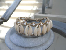 Naturally White Queer as Folk, Gale Harold Inspired Cowry Shell Bracelet
