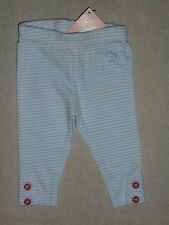 Gymboree VENICE SWEETIE Blue White Striped Red Button Leggings Pant NWT Spring