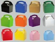 PARTY (Food/Lunch) BOXES - 12 Colour Range (3/4/5/6/7/8/9/10/11/12){Card}