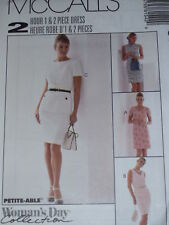 *McCALL'S #8154 LADIES (2hr) 1960's STYLE ONE & TWO PIECE DRESS PATTERN  4-22uc