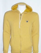 American Eagle Outfitters Mens Hoodie Sweatshirt Jacket Yellow New NWT