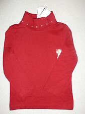 Gymboree SWEET TREATS Red Gem Turtleneck Top Shirt NWT Winter Holiday 3 4