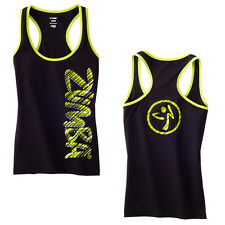 Zumba Fast Dash Racerback Top Zumbawear Dance All Sizes