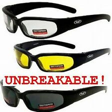 Hercules UNBREAKABLE INDESTRUCTIBLE SUNGLASSES Safety-Smoked, Yellow Night Drive