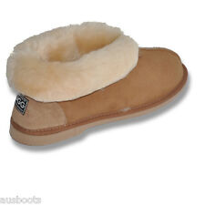 Ugg Slippers - Ladies Sheepskin Australian Ugg Boots Turn Down or Turn Up Cuff