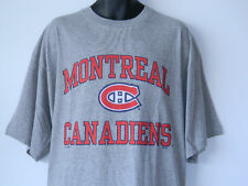 Montreal Canadiens Gray Tee Shirt Big Tall Mens Sizes Majestic NHL Hockey Habs