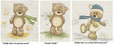 ANCHOR/ZWEIGART COUNTED CROSS STITCH KIT/TEDDIES/C 16/REDUCED TO CLEAR