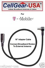 T-Mobile ZTE MF61 4G Mobile Hotspot External Antenna Adapter Cable FME-M