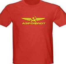 Aeroflot Russian Airlines t Shirt all Sizes colors