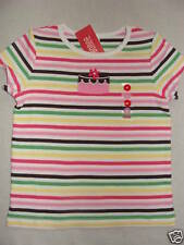 Gymboree TEA FOR TWO Pink Brown Stripe Shimmer Cake Tee Top Shirt NWT School