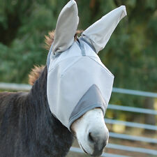 CASHEL CRUSADER FLY MASK MULE DONKEY STANDARD & EARS ALL SIZES HORSE TACK