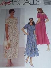 McCALL'S #8119 - LADIES CASUAL PULLOVER DRESS w/PLEATED SKIRT PATTERN   8-26 uc