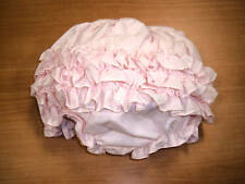 SARAH LOUISE PINK INFANT RUFFLE PANTIES DIAPER COVER BLOOMERS SIZES 0-18 MONTHS