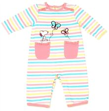 SNOOPY Baby Girl Coverall