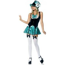 Sexy Mad Hatter Costume Adult Alice in Wonderland Fancy Dress