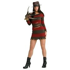 Miss Krueger Freddy Costume Nightmare on Elm Street Halloween Fancy Dress
