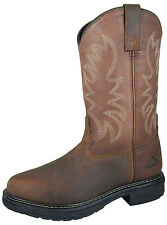 NEW! MEN'S Smoky Mountain Boots Cowboy Western Work Wellington Tuff Tred Sole