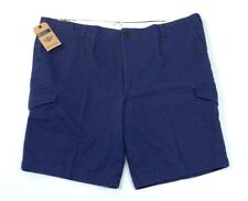 Dockers Classic Fit Flat Front Navy Blue Cargo Shorts Mens NWT
