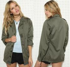 Khaki Shirt Jacket - JacketIn