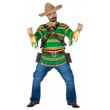 Tequila Pop 'N' Dude Adult Mexican Bandito Cinco de Mayo Costume Std/Plus Sizes