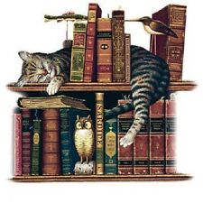 Curl Up With A Good Book    Cat Tshirt   Sizes/Colors
