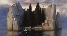 Isle Dead Arnold Bocklin 1883-Art Photo/Poster Repro Print Many Sizes A0/85