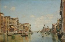 Photo Print Reproduction View Of Grand Canal Of Venice Federico Del Campo