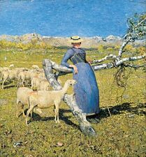 High Noon In Alps Giovanni Segantini  Repro Art Photo/Poster Print Satin/Canvas/