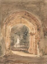 East Bergholt Church Looking Out South Archway Ruined Tower John Constable 1806