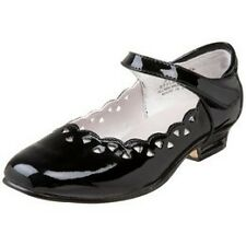 """New! Jumping Jacks """"Bethany"""" Black Patent LEATHER Mary Janes SHOES Little Girl"""