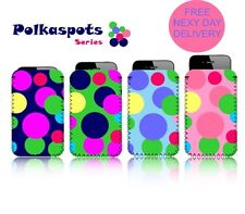 'POLKASPOTS' (M) Mobile Phone Case / Pouch for SAMSUNG GALAXY S III (S3) MINI