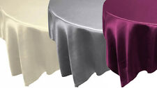 "20 pcs 90x90"" SATIN Table OVERLAYS - Wholesale Square Wedding Linens Discounted"