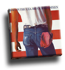 Bruce Springsteen - Born in the USA Giclee Canvas Album Cover Picture Art