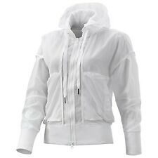 Adidas Stella McCartney Women's Te Tennis Hooded Track TOP White Running $250