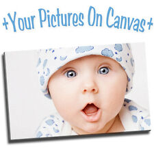 Your Photo Or Picture On A Canvas Print A0 A1 A2 A3 A4