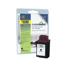 Remanufactured No.70 Black Ink Cartridge for Lexmark X125 Printer & more