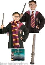 Licensed Harry Potter Accessories Glasses Scarf Tie Wand Fancy Dress Book Week