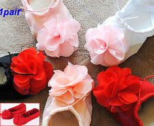 Fashion Girl Flower Canvas Soft Ballet Dance Dancing Fitness GYM Shoes Slipper