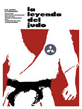 876 Judo's Legend Movie Art Decoration POSTER.Graphics to decorate home office