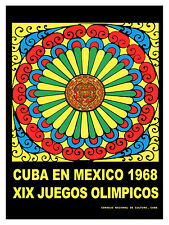 917 XIX Olympic games  Art Decoration POSTER.Graphics to decorate home office.